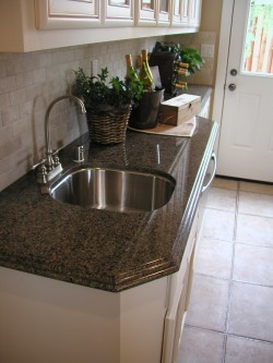 Compostite is one of the materials worktop repairs can be mage to
