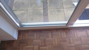 parquer floor tile repaired